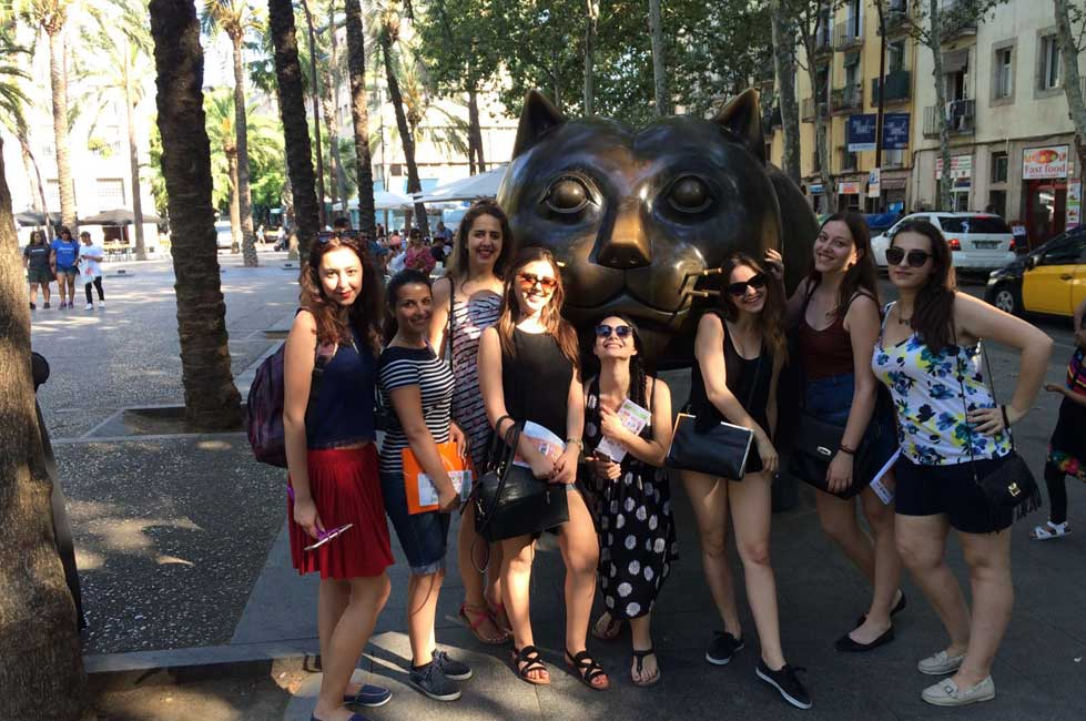 spanish students in raval